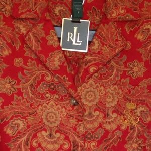New Ralph Lauren Women Pajamas Set 1X